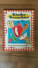 Kinder Krunchies Cook Book Healthy Snack Recipes Home-school For Kids Children