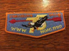 MINT OA Flap Lodge 340 Timquan Orange Border 1990 NOAC