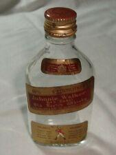 Johnnie Walker RAR Vintage Miniatur leer Glasflasche 50ml