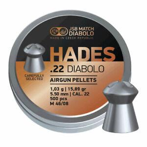 JSB Match Diabolo - Hades .22 Diabolo - 5.50 - 15.89gr - Airgun Pellets