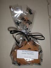 New listing 1 dozen Homemade Gourmet Peanut Butter dog biscuits for all ages - Free Shipping
