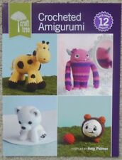 CROCHETED AMIGURUMI  stuffed animal toy pattern book by Interweave