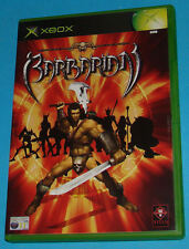Barbarian - Microsoft XBOX - PAL