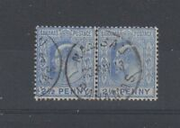 Bahamas 1907 2 1/2d FU CDS strip of 2