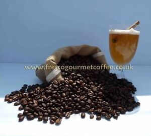 4 x 100g Coffee beans Flavoured, Normal Roast, Decaffeinated coffee or ground