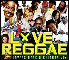 LOVE REGGAE LOVERS ROCK & CULTURE MIX CD 2013
