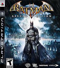 Batman: Arkham Asylum / Game PLAYSTATION 3 (PS3) Action / Adventure (Video Game)