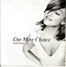 CD SINGLE MADONNA one more chance 3-TRACKS UK 1995 POSTER SLEEVE