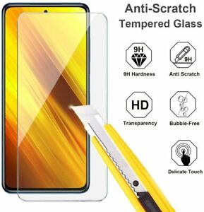 Schutzglas Glasfolie für Xiaomi Poco X3 NFC Display Schutz Panzerfolie Full 9H