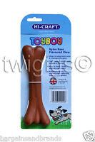 Hi-Craft 🐶 Toyboy™ Dog Chew Chicken Flavoured Nylon Teething BONE 🇬🇧