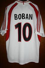 Maglia Shirt Maillot Camiseta Maglietta Jersey AC Milan Boban Croatia Opel 00 02