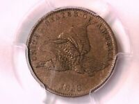 1858 Flying Eagle Cent PCGS XF 40 Small Letters 39331810
