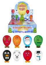 Christmas Character Themed Balloon Heads Xmas Party Filler Bag 8