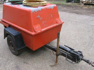 Ingersoll Rand fast tow Diesel powered Air compressor,Duetz 2 cylinder engine.
