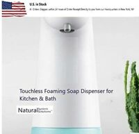 Touchless Soap Foam Dispenser, Hands-Free Automatic  Foamer Kitchen Bath