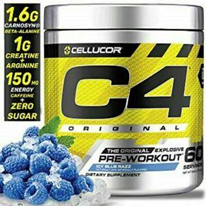 Cellucor C4 Original Series 5th Gen 60 servings Explosive Pre-Workout Powder