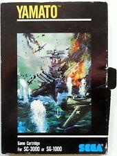 VINTAGE RETRO GAME CARTRIDGE  SC-3000 SG-1000 SEGA YAMATO 1983
