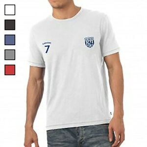 West Bromwich Albion F.C - Personalised Mens T-Shirt (SPORTS)