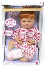 "Irwin Doll Baby So Real In original box 18"" Ginger Red Head cute"
