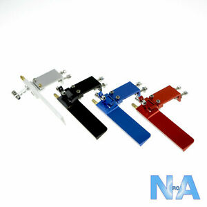 Aluminium Alloy 75mm & 95mm RC Model Boat Rudder With Water Pickup *Upgrade*