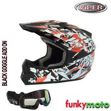 Cascos Enduro/Motocross decorado talla S para conductores