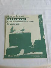 Seymour Bernstein Birds For Piano Solo Music Book Number 1 Suite Impressionistic