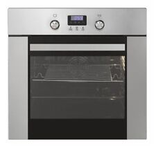Oven Built in Cooker Autark Grill Circulating Air 2 Telescopic Sliding Shelves