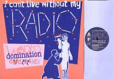 "WORLD DOMINATION ENTERPRISES I Can'T Live Without My Radio  12"" Ps, 3 Tracks, To"