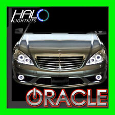 ORACLE 2007-09 MERCEDES S-CLASS W221 WHITE LED Headlight+Fog Halo Ring Kit