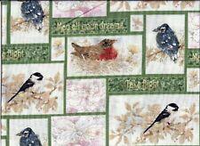 Birds Green Take Flight curtain valance