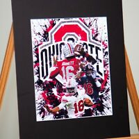 Ohio State Buckeyes - J.T. Barrett #16 - Wolverine slayer - Unique Artwork