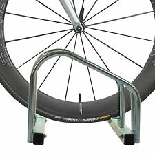 2 BIKE FLOOR STAND WALL MOUNTED BIKE CYCLE BICYCLE GALVANIZED PARKING STORAGE RA