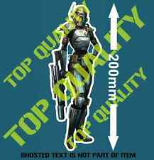 PIN UP GIRL BOUNTY HUNTER Decal Sticker for Mancave Hot Rod Vintage USA Stickers