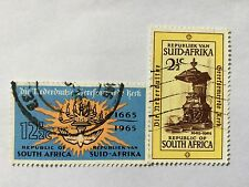 1965 South Africa Nice Stamps . SC 308-309