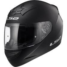 LS2 Helmet Motorbike Fullface Ff352 Rookie Solid Matt Black L
