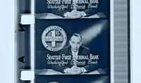 Advertising 16mm Film Reel- Seattle First National Bank (SB51)