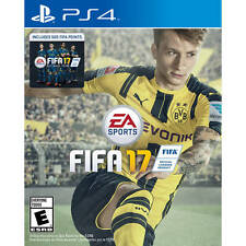 FIFA 17 (PS4) w Bonus 500 FIFA Ultimate Team Points BRAND NEW SHRINKWRAP TORN