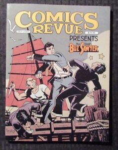 2010 COMICS REVUE Magazine Presents Buz Sawyer NM #293-294 128pgs