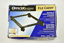 Office Designs File Caddy Fits Letter & Legal Size File Cabinets