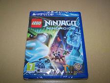 LEGO NINJAGO: Nindroids per PSVita (leggi descrizione) ** NUOVO E SIGILLATO **