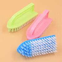 Shell Clothes Shoes Floor Cleaning Washing Scrubbing Scrub Plastic Brush-Random