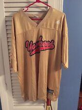 New York Yankees Vintage Adidas David Wells #33 Football Jersey Size XL WOW!