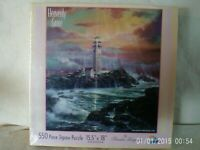 Heavenly Grace 550 Piece Jigsaw Puzzle *LIGHTHOUSE* New Factory Sealed