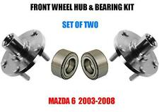Front Hub & Bearing Kit Assy FOR Mazda 6    2003-2008  SET OF TWO
