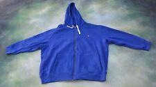 Vintage Polo By Ralph Lauren Men's Full Zip Hoodie Jacket Size 4XB.