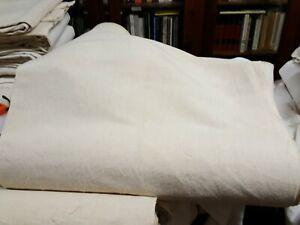 Tessuto Canapa naturale tessuta a mano  telaio h. cm. 73 al metro Hemp Chanvre ^