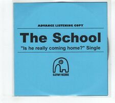 (GP759) The School, Is He Really Coming Home? - 2010 DJ CD