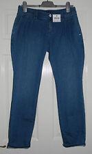 DNKY Women's Denim Jeans Stretch Designers Bloggers Trousers Size 30 UK 14 BNWT