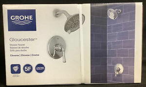 Grohe Gloucester Shower Faucet Chrome 35105000