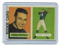 1957 Topps # 138 JOHNNY UNITAS ROOKIE RC REPRINT Baltimore Colts SWEET LOOK !